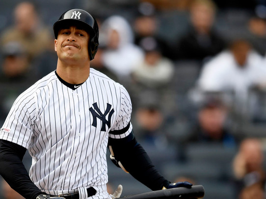 Yankees place Stanton on 10-day I.L.