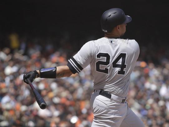 Sanchez slam helps lift Yankees over Giants