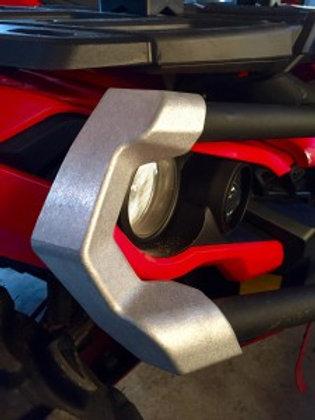Aluminum Bumper Corner SETof4 (Fits front&rear bumpers).