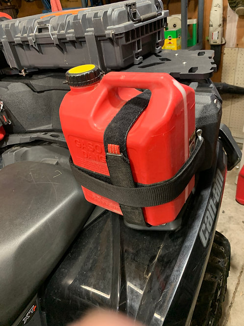 Fuel Can Strap System