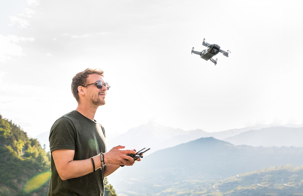 control of career drone