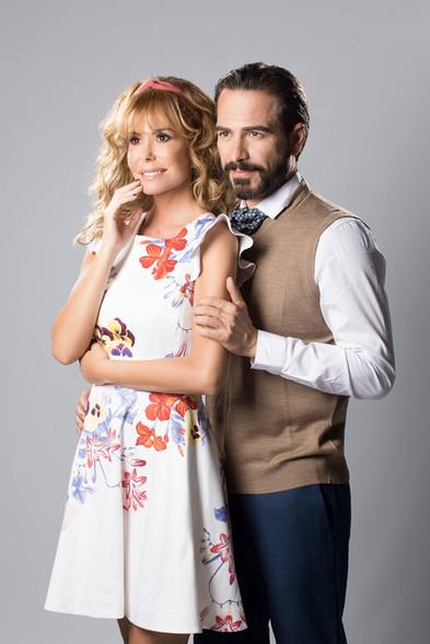 Lara Dibildos y Alejandro Tous