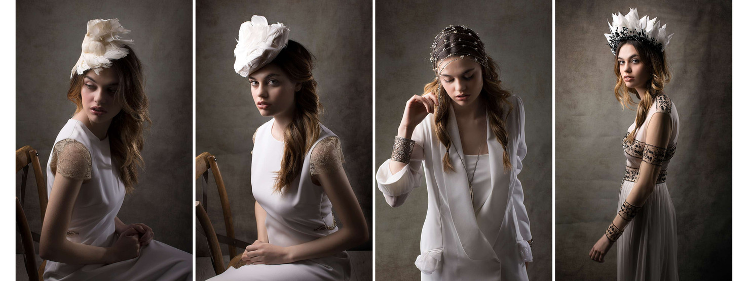 YULIA EREMINA HAIRPIECES WINTER LOOKBOOK