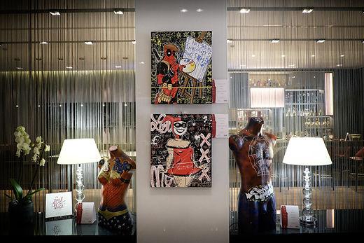 Streetart in Store _NH Hotels . 4 Luglio