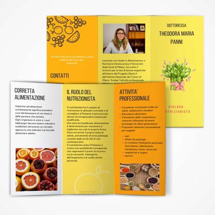 Brochure Nutrizionista