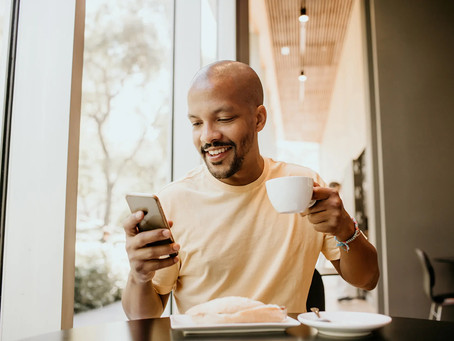 The Power of Text Message Marketing for Restaurants that shows a 98% open rate