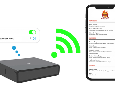 Easy Smart WiFi launches new Touchless Menu for restaurants