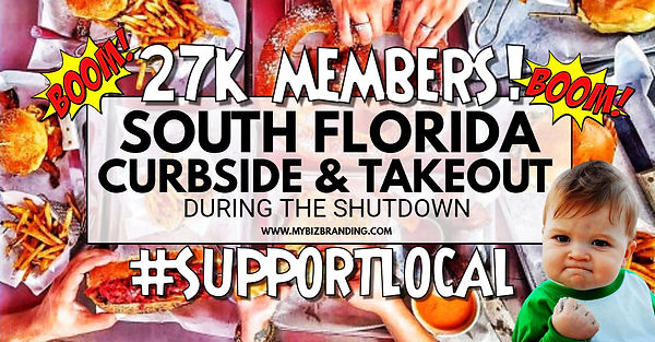 27k members south florida curbside & tak