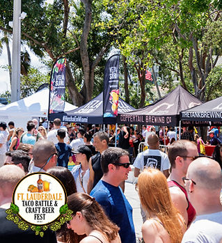 ft lauderdale taco battle and craft beer