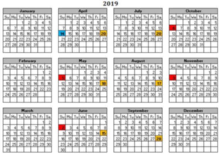 2019 Scheduled Craft Fairs.JPG