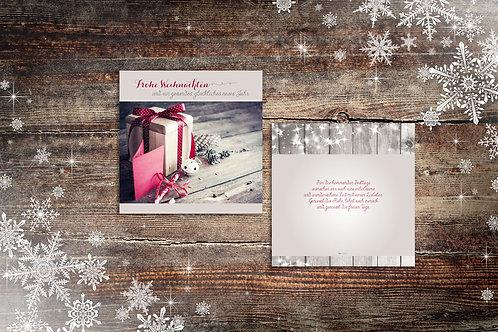 """Weihnachtskarte """"Glöcklein"""""""