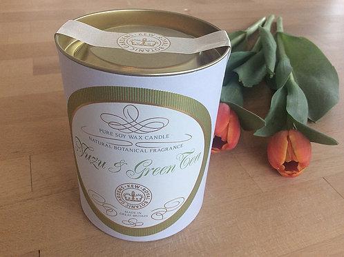 """Durftkerze Canova """"Yuzu & Green Tea"""""""