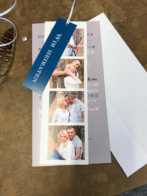 Hochzeitskarte Nadine-Lars