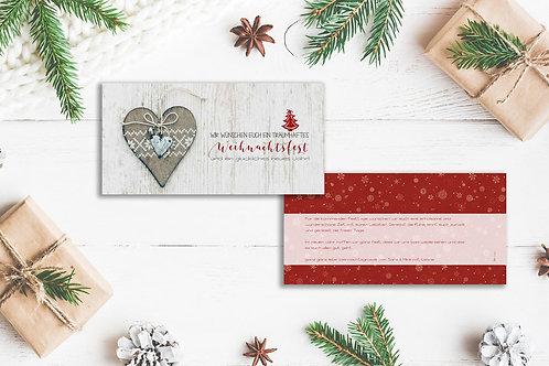 """Weihnachtskarte """"Laura"""""""