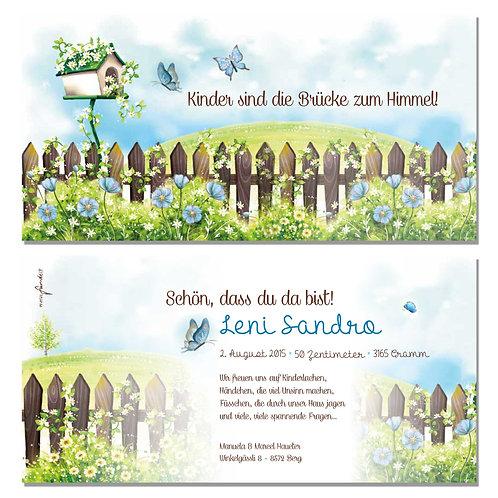 Geburtskarte Leni