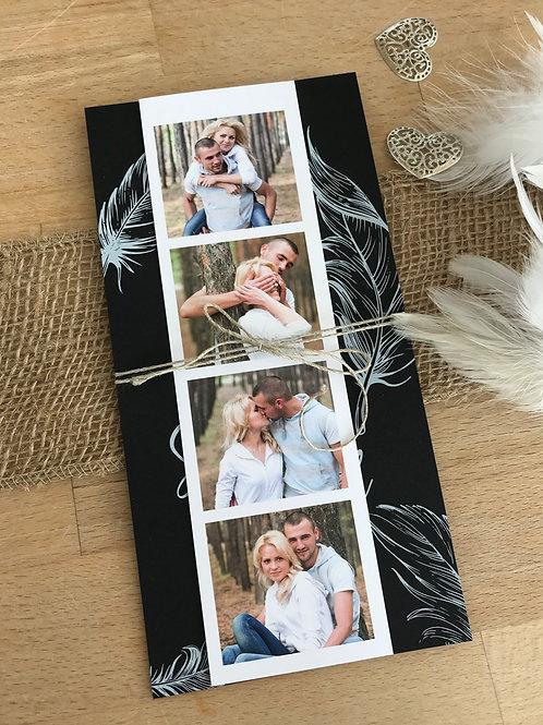 Hochzeitskarte Sarina Raoul