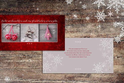 """Weihnachtskarte """"Pony"""""""