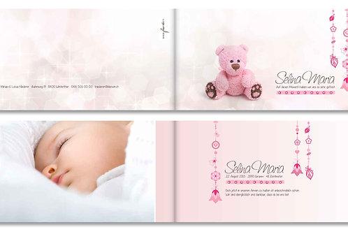 Geburtskarte Selina Maria