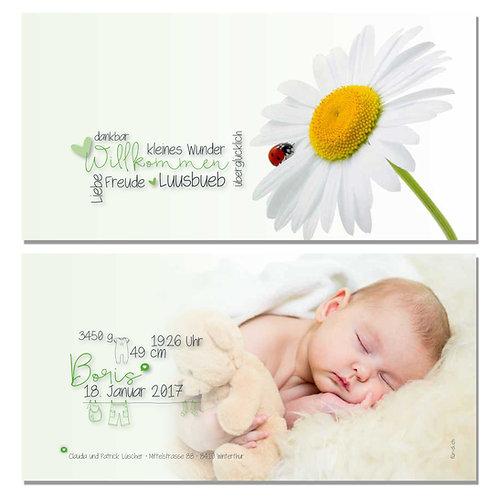 Geburtskarte Boris