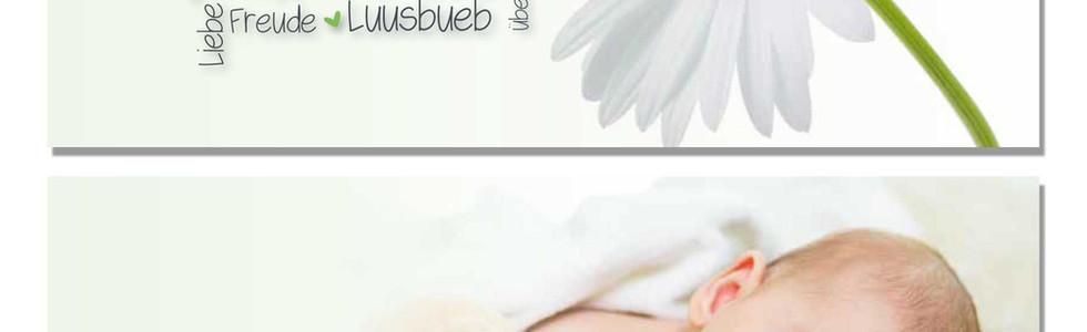 Geburtskarten, Hochzeitskarten, Geburtskarte Boris  | Schweiz | online bestellen
