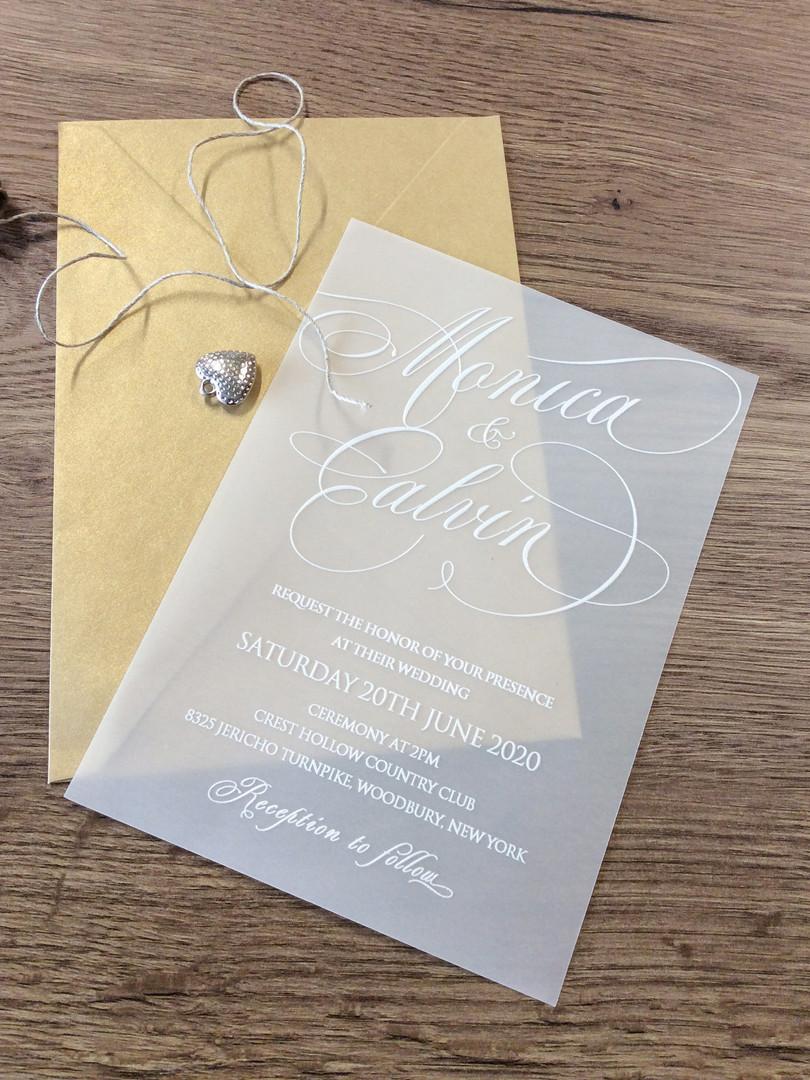 Hochzeitkarten mit UV-Druck