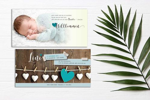 Geburtskarte Lino