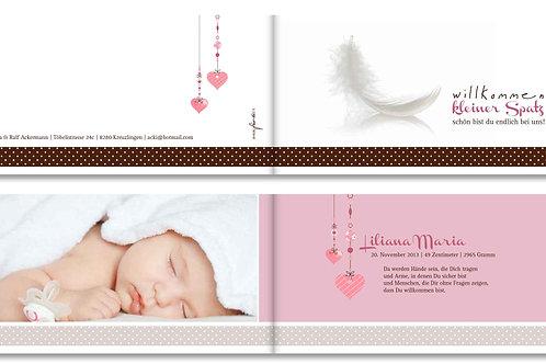 Geburtskarte Liliana Maria