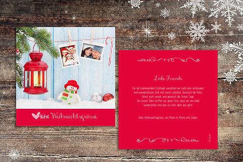 """Weihnachtskarte """"Poppy"""""""