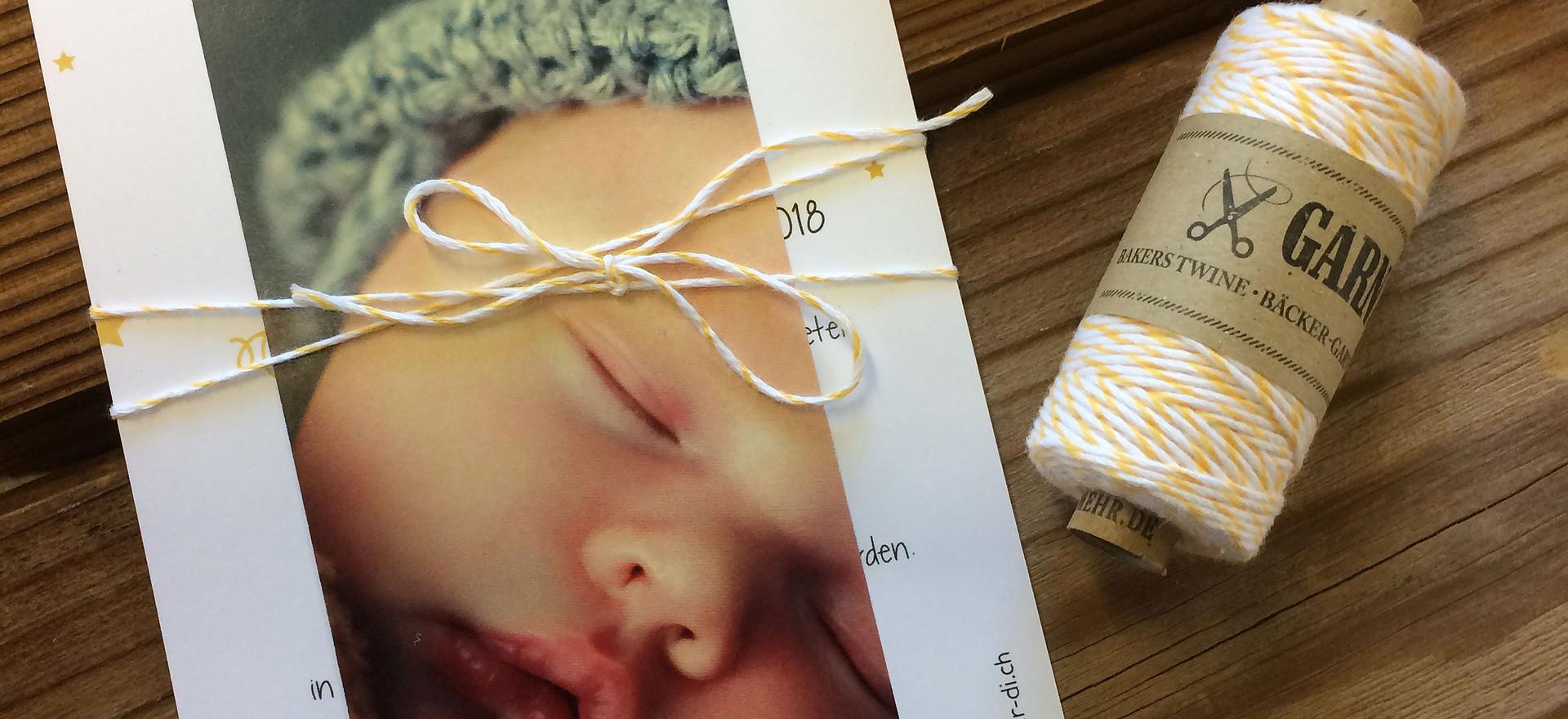 Geburtskarten, Hochzeitskarten, Geburtskarte Klara  | Schweiz | online bestellen