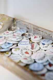 zauberhafte Buttons für die grosse Schwester oder den kleinen Bruder