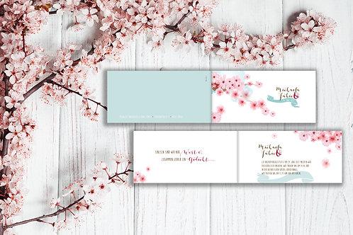 Hochzeitskarte Michaela - Fabio