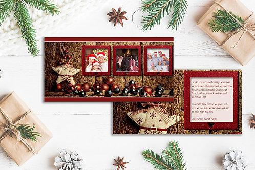 """Weihnachtskarte """"Melodie"""""""