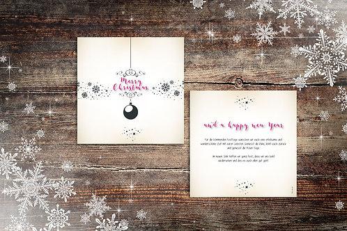 """Weihnachtskarte """"Leonie"""""""