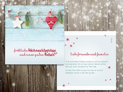 """Weihnachtskarte """"Michel"""""""