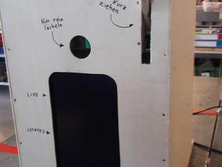 Photobooth bzw. Fotobox: Marke Eigenbau zu kaufen. Nein, das ist nicht Unsere!!:)