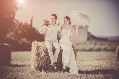 Hochzeitsfoto in Italien