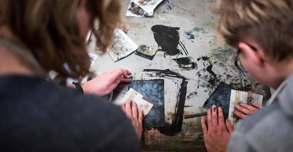 Bij Vrijdag Beeldend Grotografie printsi