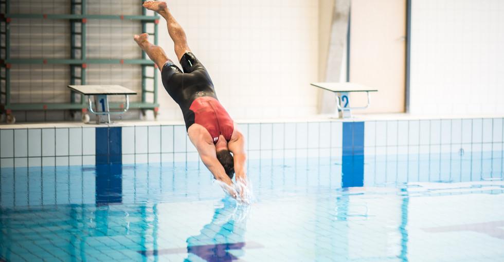 NWO presentatie zwembad Grotografie webs