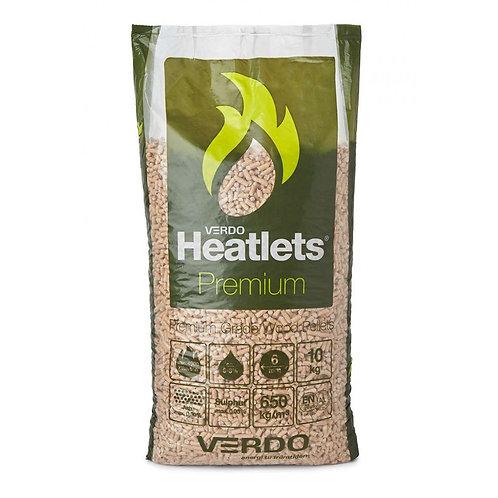 HENT SELV: 6mm/10kg/900kg Heatlets Premium træpiller