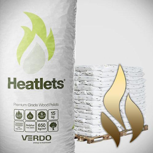 HENT SELV: Heatlets Standard Træpille. 8mm/15kg/840kg