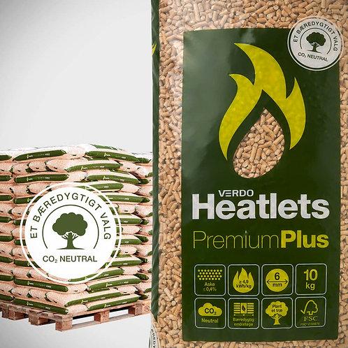 Heatlets PremiumPlus træpiller 6 mm. Poser á 10 kg