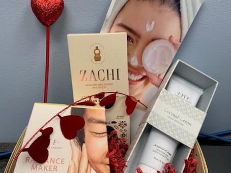 Social Distancing Valentine's Gift Basket