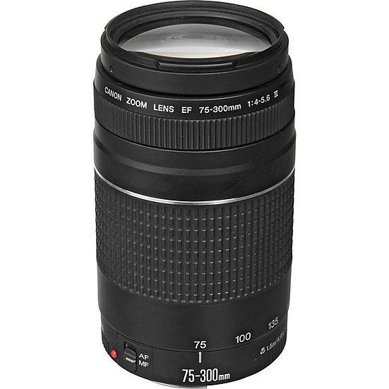 lente canon ef 75-300mm f4-56 iii