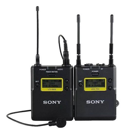 microfone Lapela Microfone Sony UWP-D11