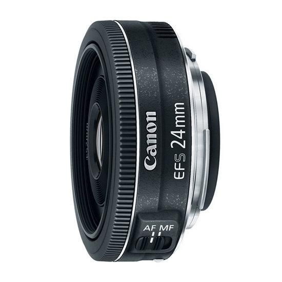 lente canon ef-s 24mm f2.8 stm