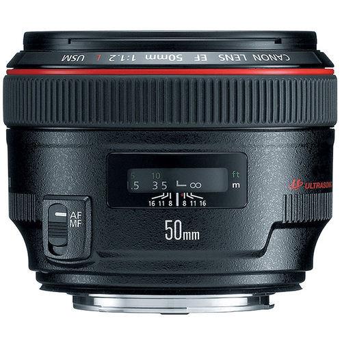Lente Canon EF 50mm F1.2l USM ultrasonic