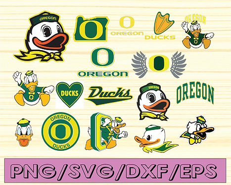 Oregon Ducks, Oregon Ducks svg, Oregon Ducks clipart, NCAA