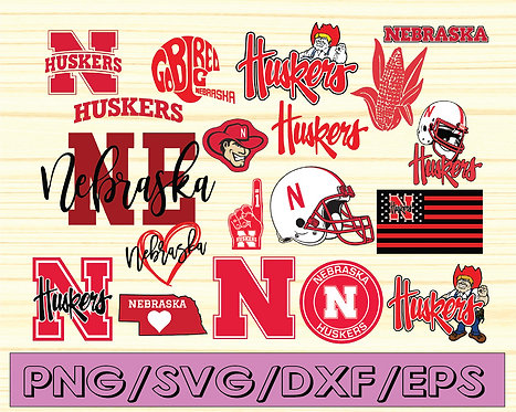 Nebraska Huskers, Nebraska Huskers svg, Nebraska Huskers clipart,NCAA TEAM