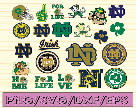Notre Dame Fighting Irish, Notre Dame Fighting Irish svg, NCAA TEAM