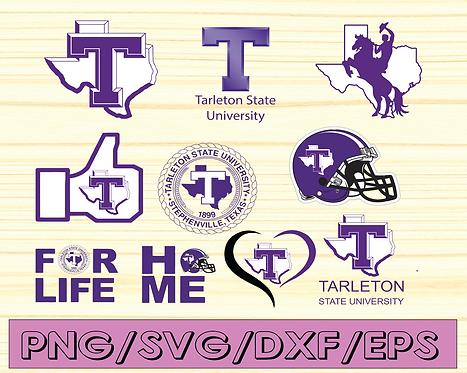 Tarleton State University, Tarleton State University vector NEW Custom Designs